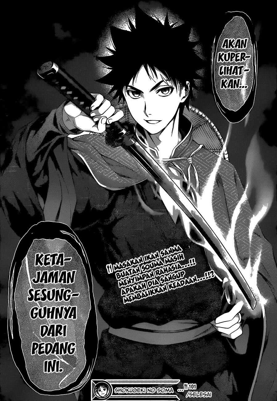 Dilarang COPAS - situs resmi www.mangacanblog.com - Komik shokugeki no soma 101 - pedang yang terasah baik 102 Indonesia shokugeki no soma 101 - pedang yang terasah baik Terbaru 19|Baca Manga Komik Indonesia|Mangacan