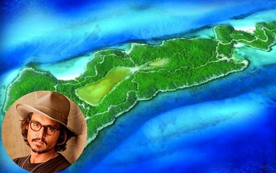 johnny depp : selebriti yang memiliki pulau pribadi