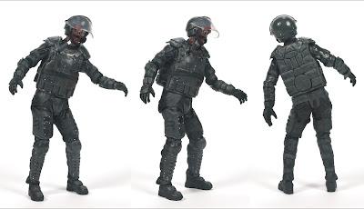 McFarlane Toys The Walking Dead (TV Series) Series 4 - Riot Gear Zombie Figure