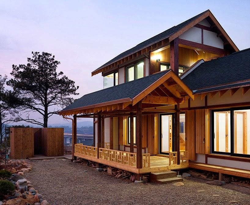 Desain rumah khas tradisional korea desain rumah for Small house design korean