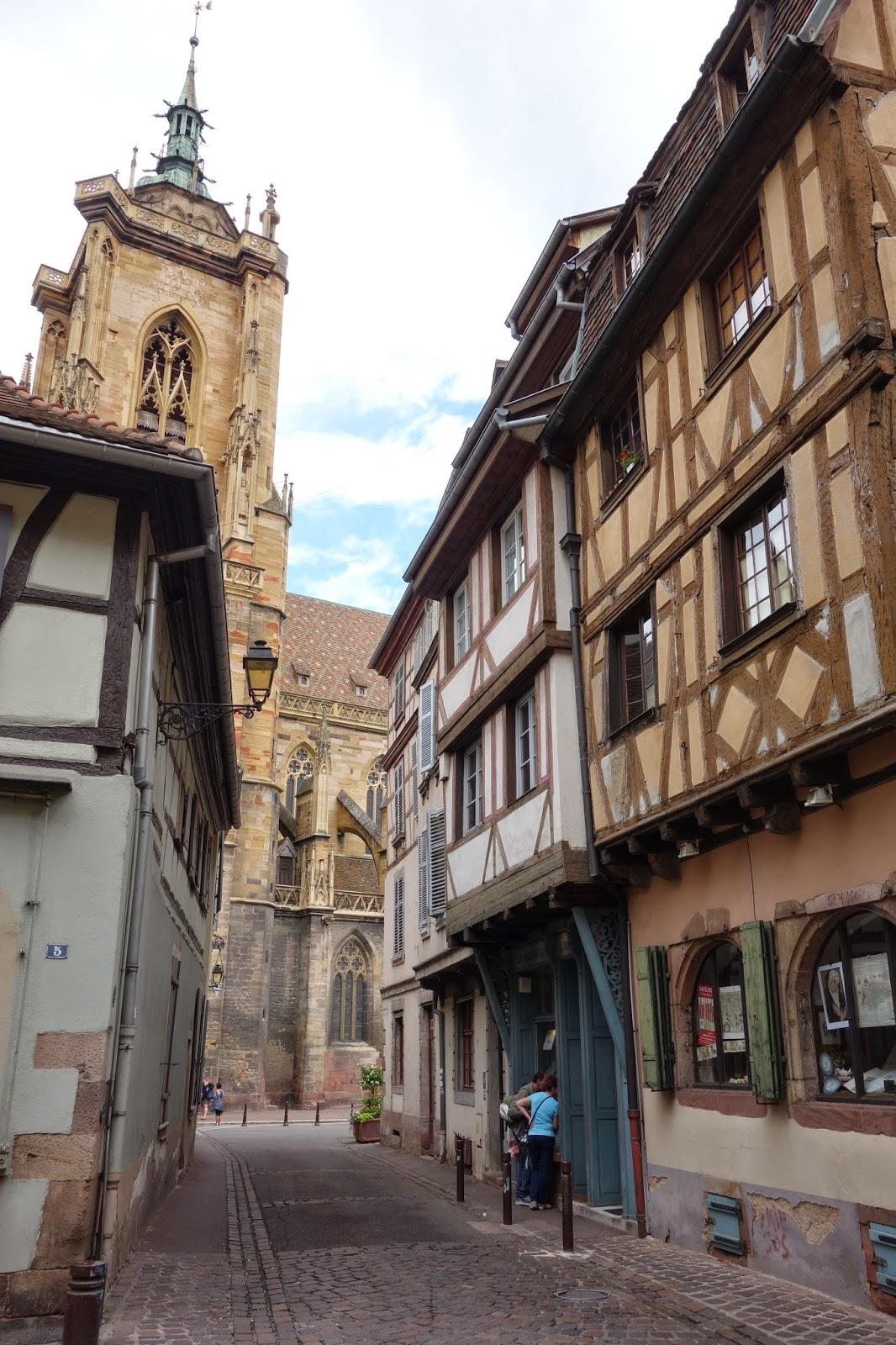 Улица Торговцев - вид на собор