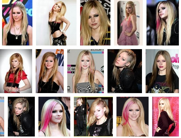 Avril lavigne Haircut and hairstyle 2012,2013