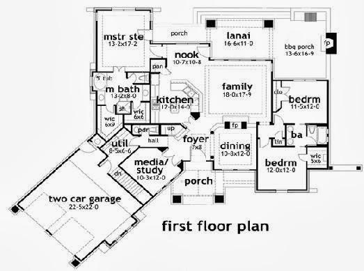 Planos de casas peque as planos de casas unifamiliares gratis - Planos casas unifamiliares ...