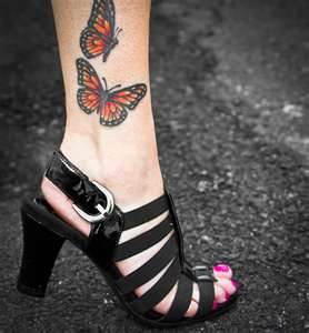 butterfly-foot-tattoos-designs