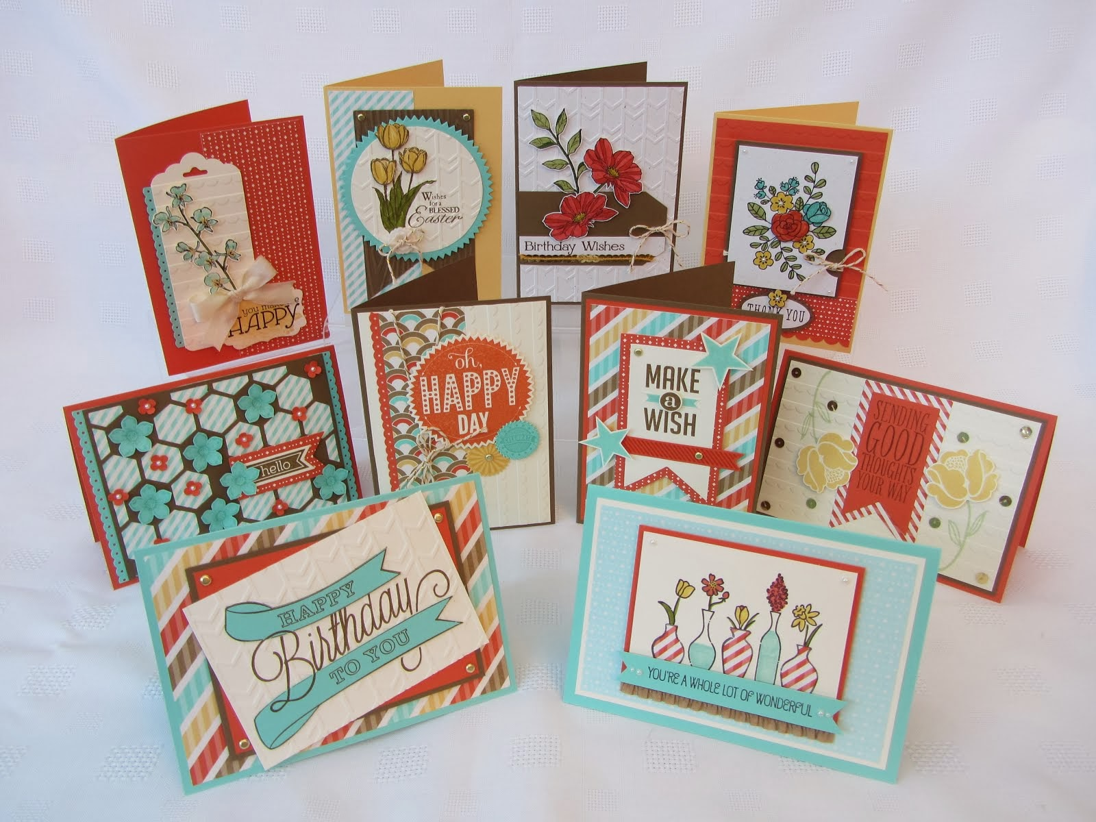 2014 Spring Mini Card Buffet
