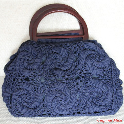 Irish crochet &: CROCHET BAG ... ?????