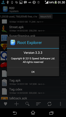 Root Explorer v3.3.3 Apk