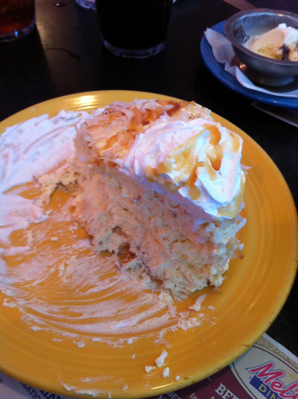 I'll be having dreams of this most wonderful mile high coconut cream pie.