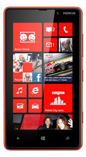 Nokia Lumia 820, smartphone terbaru dari nokia