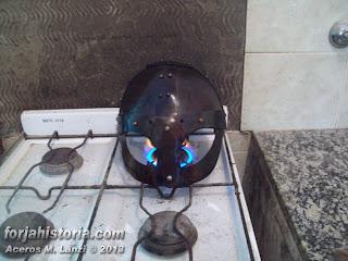 casco pavonado