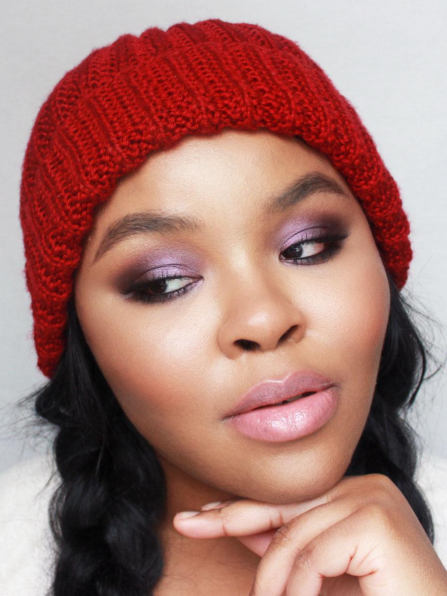 Makeup for Dark Skin, Purple Smokey Eye Makeup