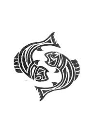 Zodiac Tattoo Designs With Image Zodiac Symbol Picture Tribal Pisces Tattoo 1