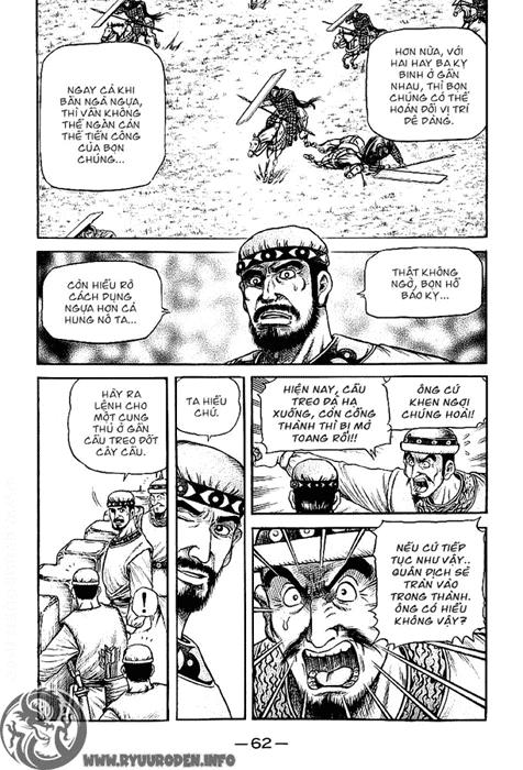 Chú Bé Rồng - Ryuuroden chap 123 - Trang 20