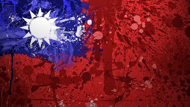 Bandera de Taiwan - China