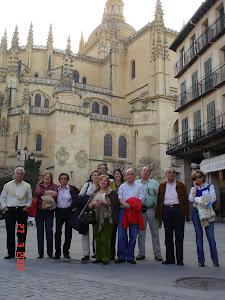 Mis amigos de toda la vida en Segovia