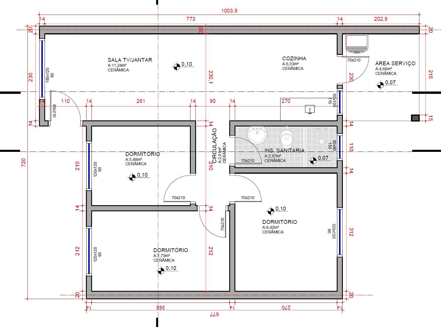 18° Denominar o tipo de desenho (planta baixa planta de cobertura  #323299 1514 1122