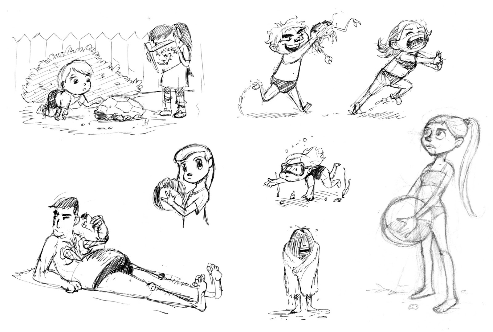 humphrey erm u0026 39 s portfolio  character design