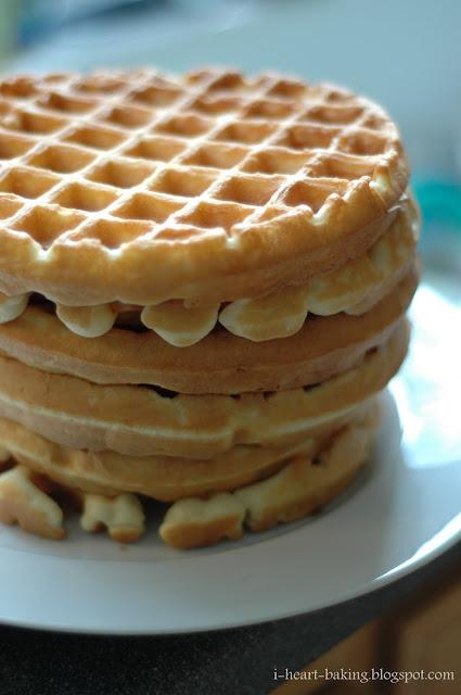 heart baking!: light and crispy waffles
