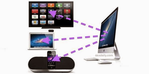 AllCast  : Streaming ke perangkat AirPlay