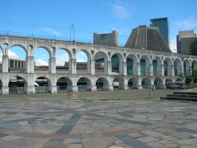 Los Arcos de Lapa en Rio de Janeiro