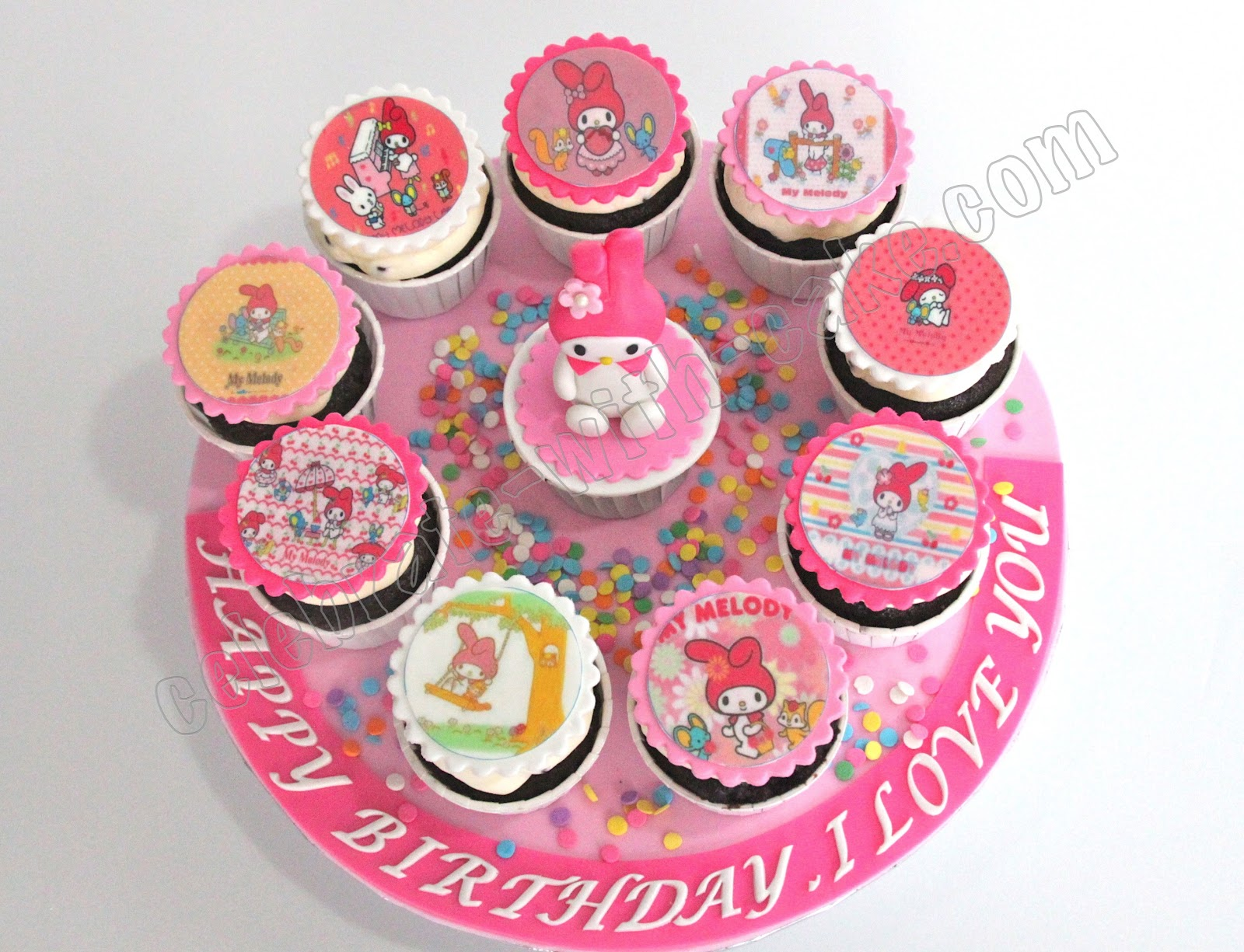 My melody, Birthday cakes and Cakes on Pinterest