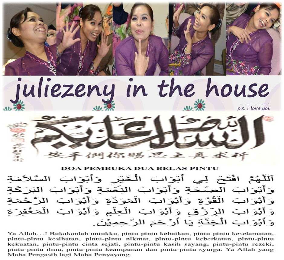 juliezeny in the house