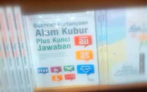 Buku 'Bocoran Pertanyaan Alam Kubur Plus Kunci Jawaban' Bikin Heboh!