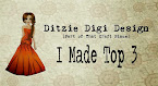 Ditzie Digi Design Top 3 Winner