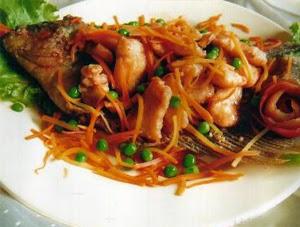 Resep Masakan Chinese Food ala Ikan Goreng Kakap
