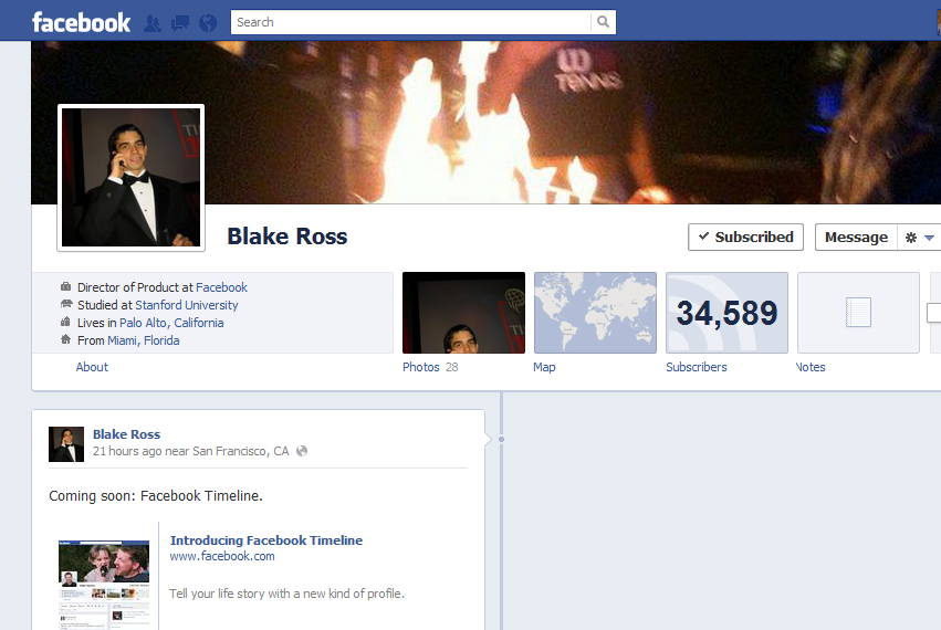 How To Enable Facebook Timeline Profile
