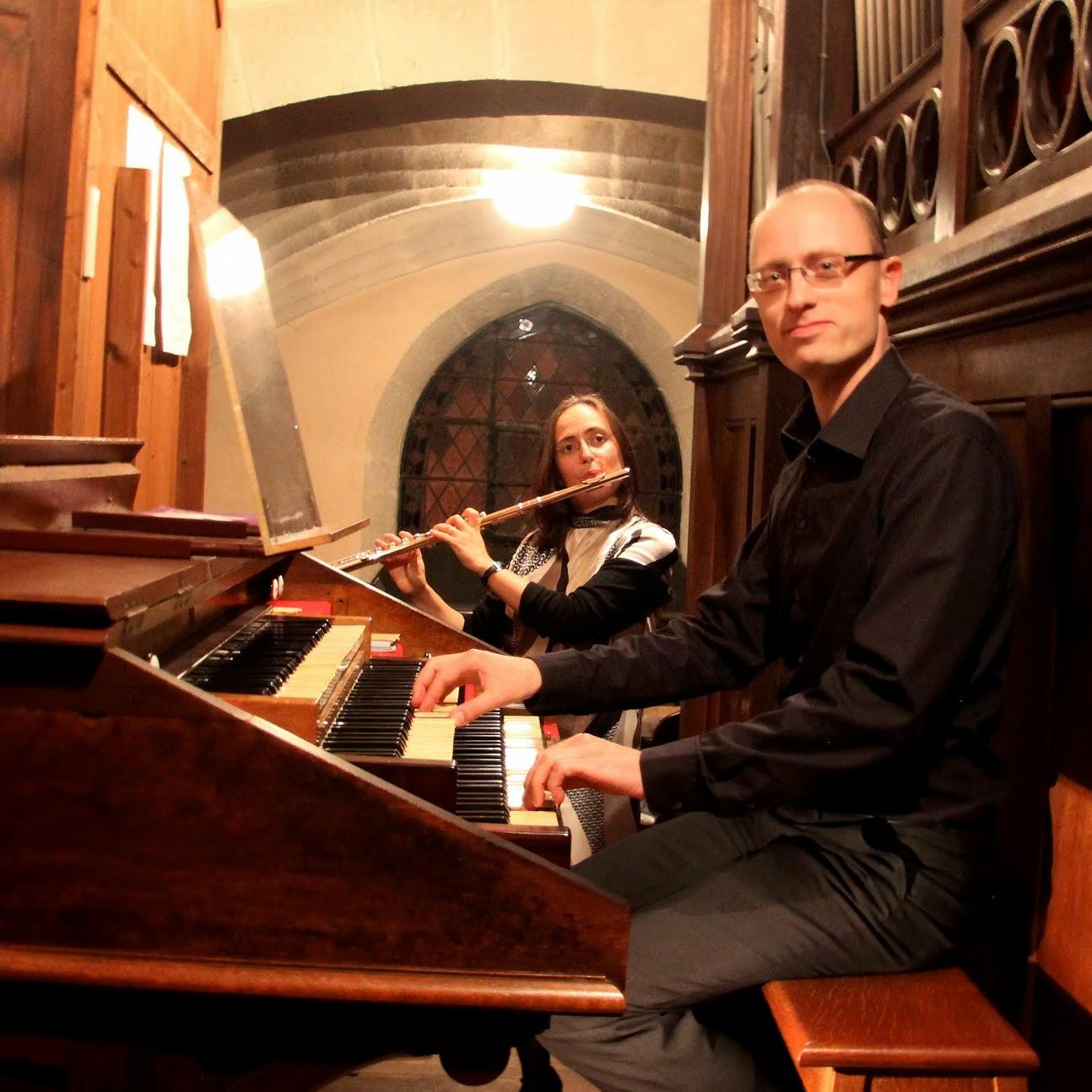 Concert Flûte et Orgue - vendredi 11 juillet 2014