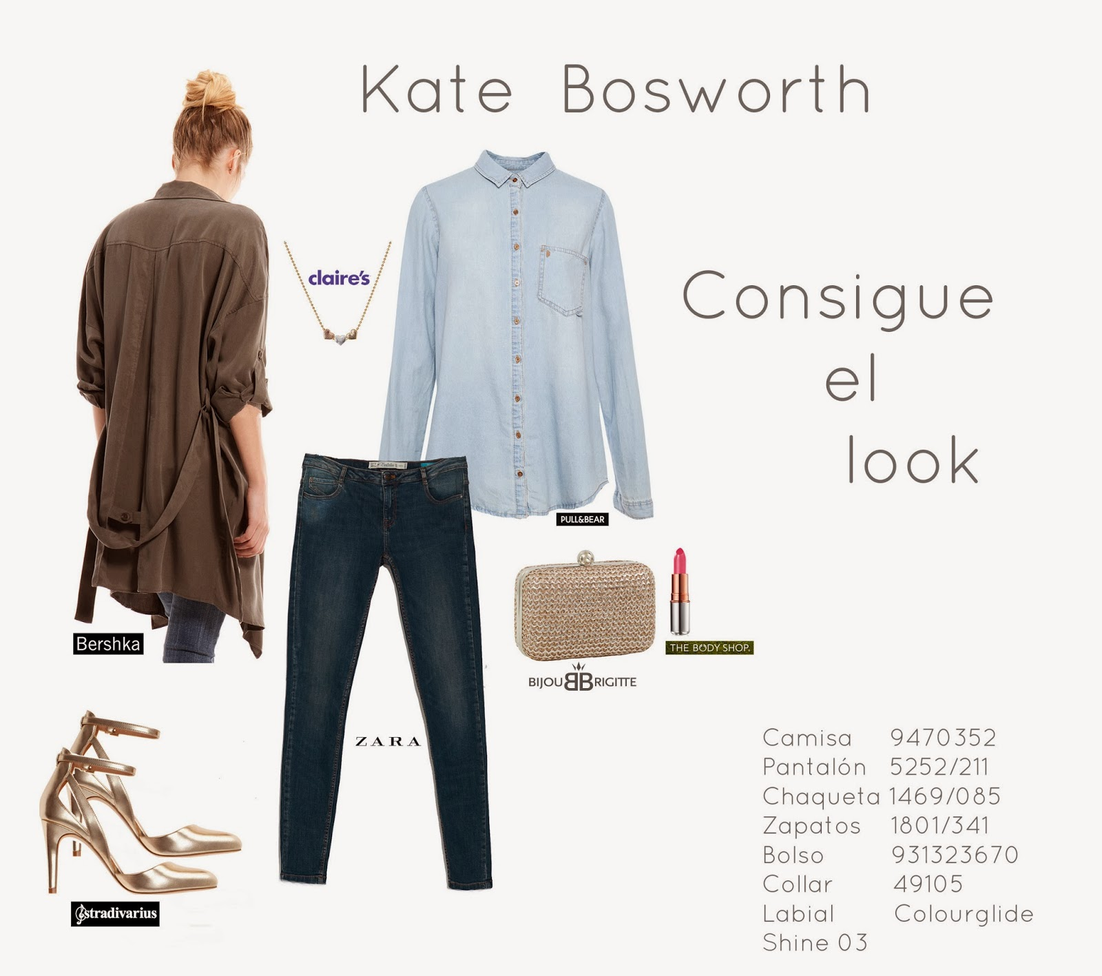 Kate Bosworth Look