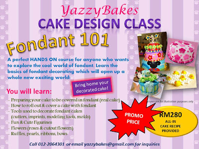 Cake Decorating Classes Az : Yazzy Bakes: CLASSES