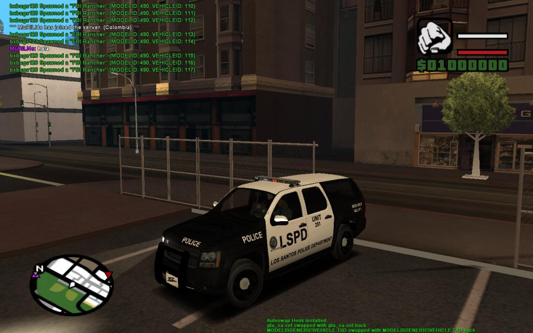 GTA Sanandreas cops