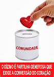 SEU COMPROMISSO COM A PARTILHA DO DÍZIMO AJUDA A NOSSA MISSÃO