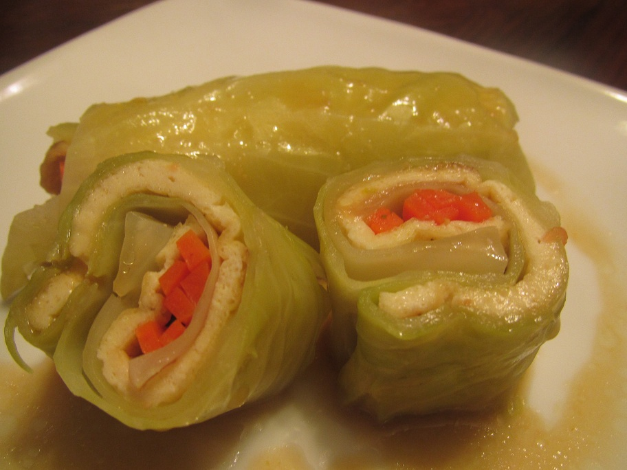 Cabbage Tofu Roll