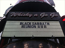 Gira europea de Black Sabbath en mayo y junio