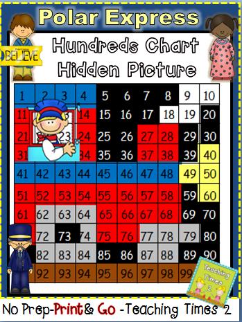 http://www.teacherspayteachers.com/Product/Polar-Express-Hundreds-Chart-Freebie-1584134