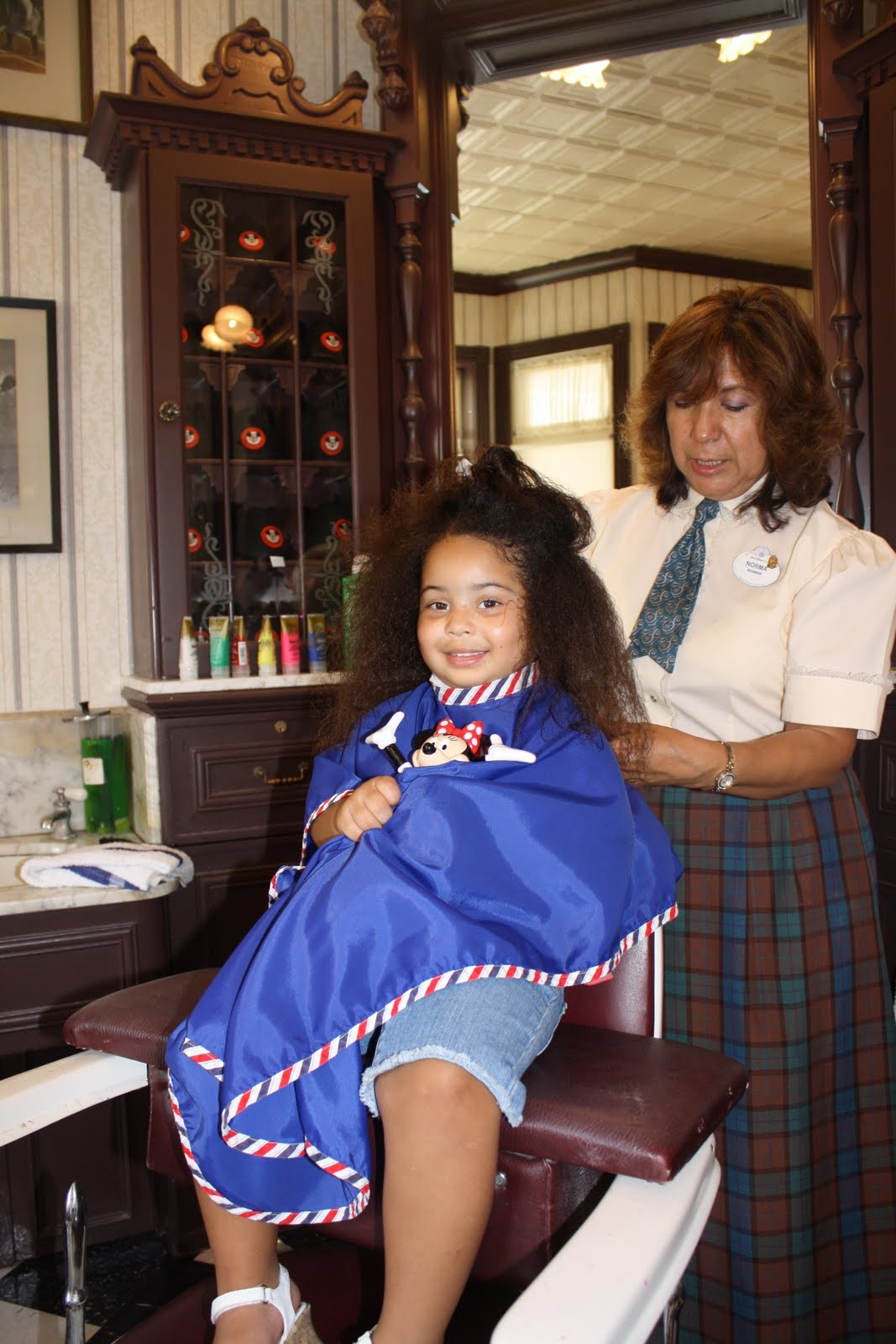 mommyhood with no blueprint   u0026quot a u0026 39 s u0026quot  first haircut done at