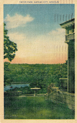 Writerquake: Old Postcard Wednesday--Garden and Forest