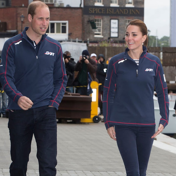 Royal Patron of the 1851 trust attend the America's Cup World Series