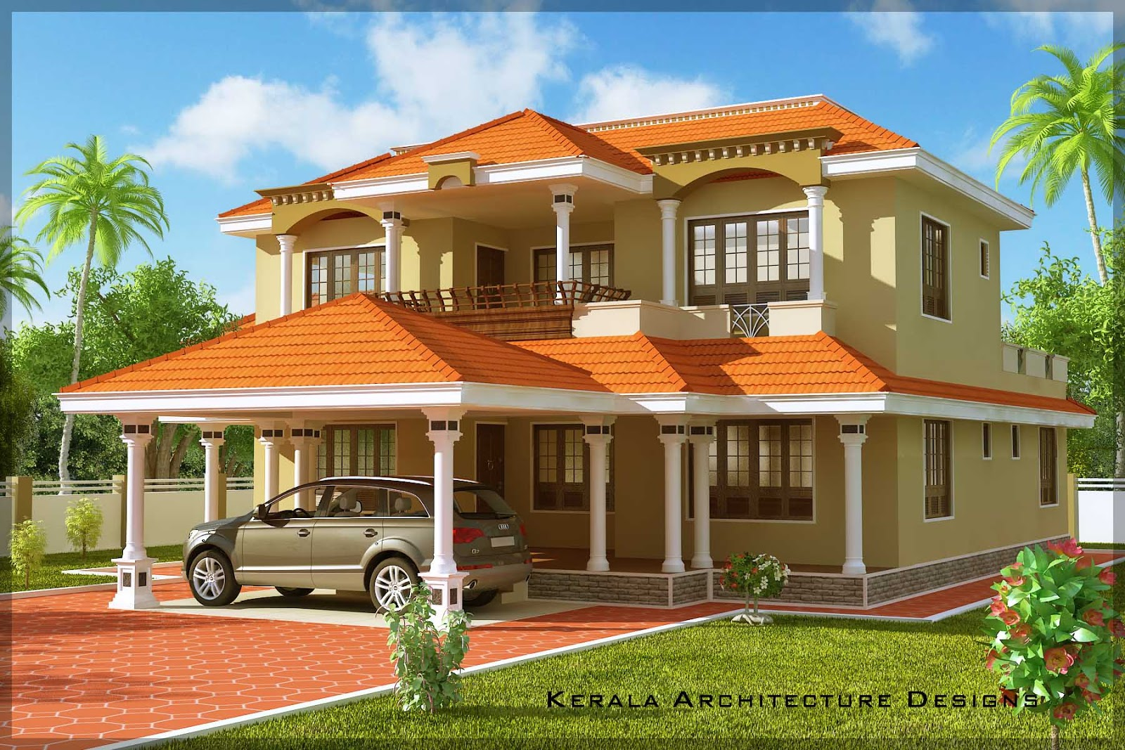 Beautiful traditional kerala house plan architecture kerala for Traditional house plans kerala style