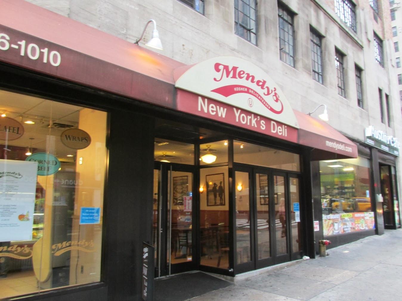 manhattan valley follies mendy 39 s deli restaurant midtown east