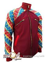 jaket Batik