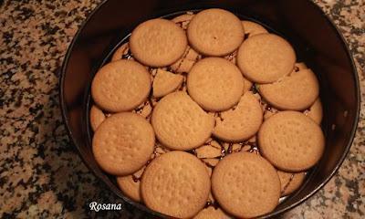 añadimos otra capa de galletas