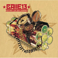 Capa do cd Entren los que quierem, da dupla porto-riquenha Calle 13