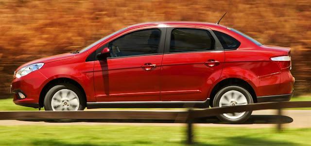 Novo Fiat Siena 2012-2013
