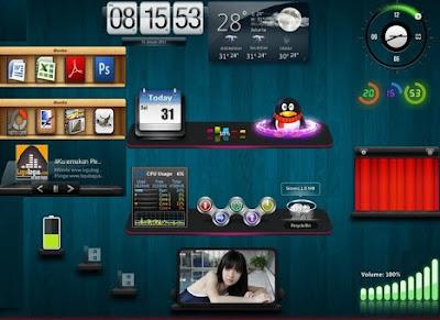 programa personaliza muitos gadgets para windows 7