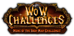 Bored? Check out the WoW Ironman Challenge!