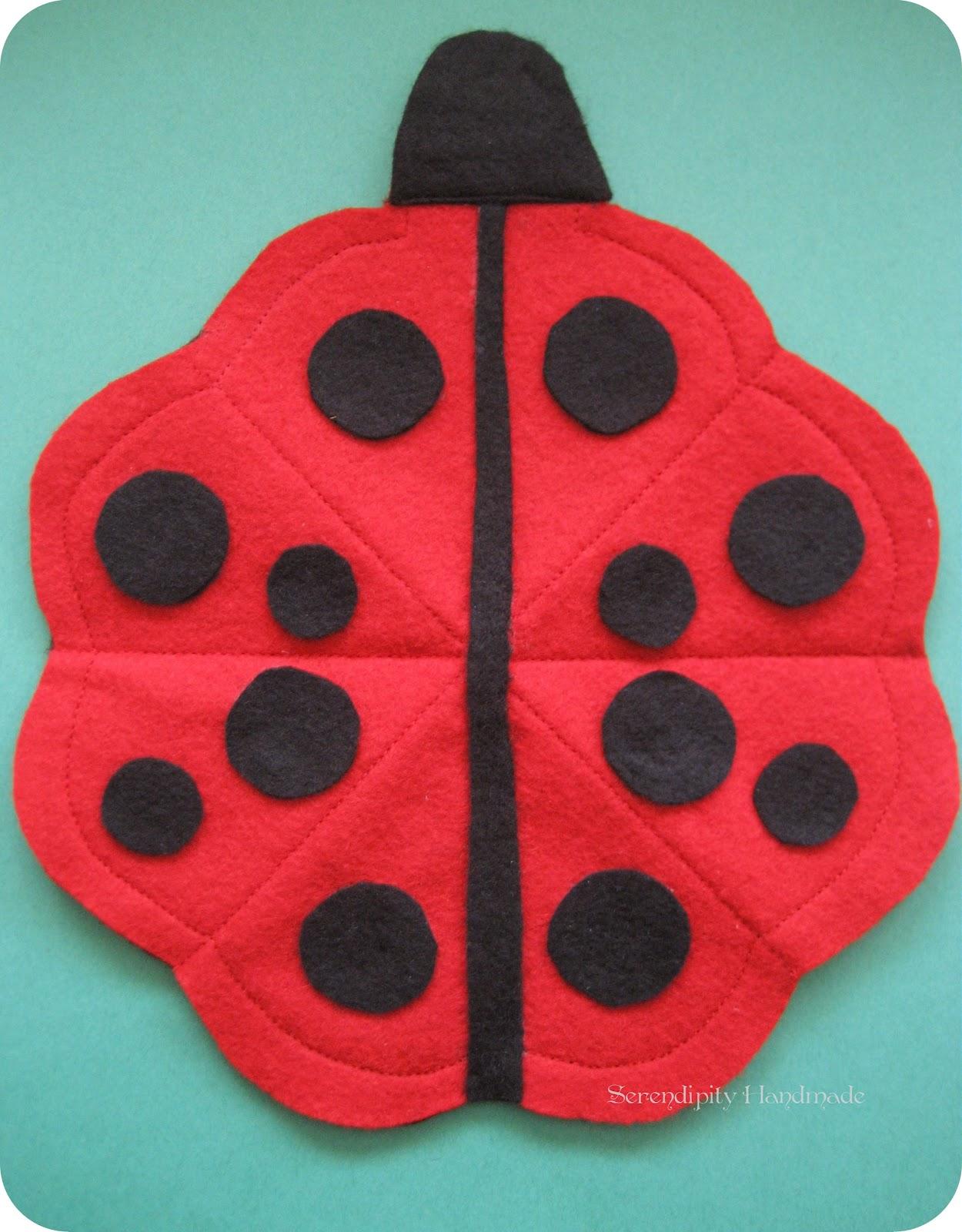 serendipity handmade ladybug needle case tutorial